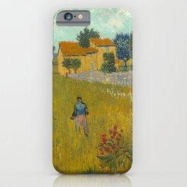Vincent van Gogh - Farmhouse in Provence iPhone Case