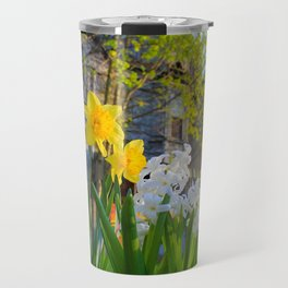 Daffodils and Dilapidation Travel Mug