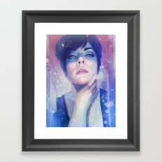 Drowning Framed Art Print