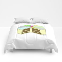 P I N W H E E L  CAKE Comforters
