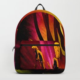watercolor lily Backpack