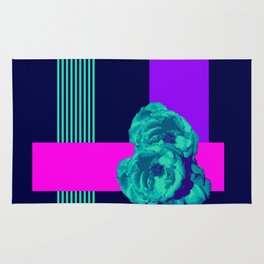 Neon Roses #society6 #roses Rug