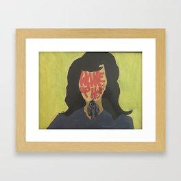 Karen Hill  Framed Art Print