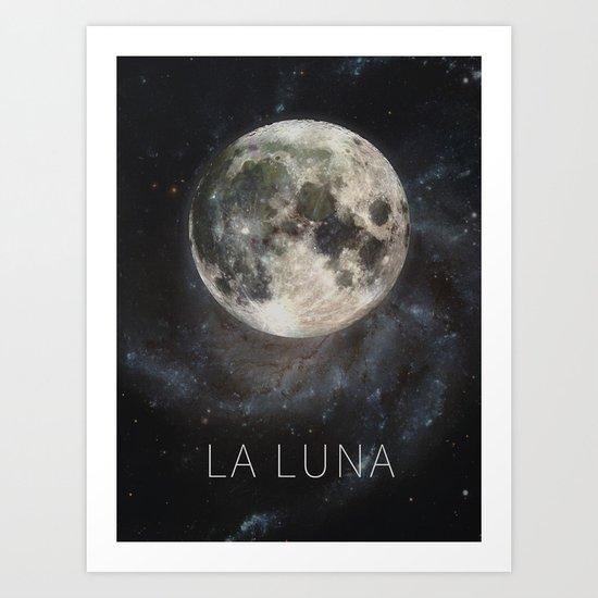 La Luna Art Print