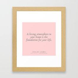 125 | Dalai Lama Quotes 190504 Framed Art Print