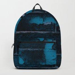 Aging Brick Blue Backpack