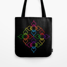 As (Black) Tote Bag