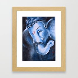 Lord Ganesh Framed Art Print