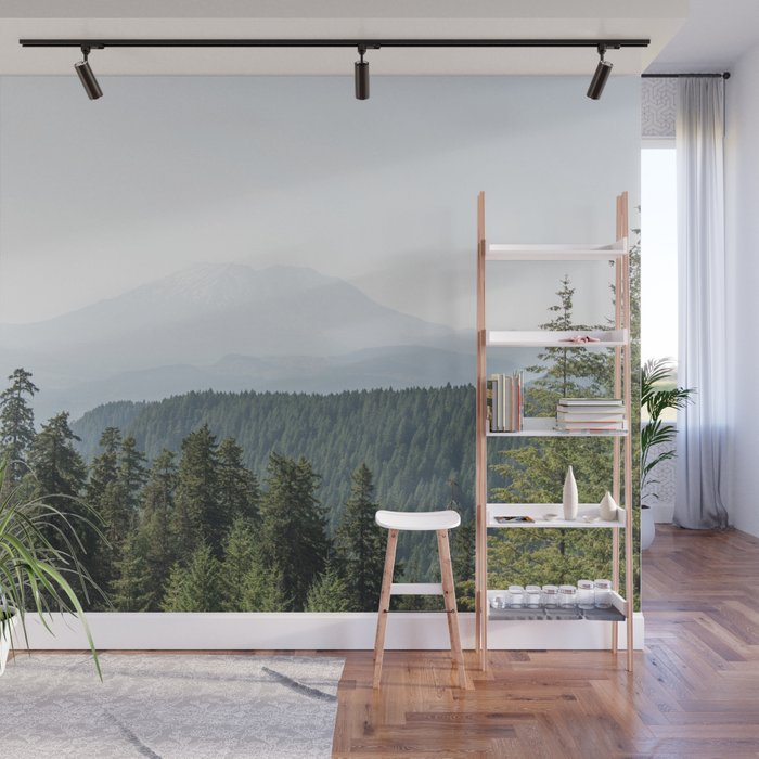 Lookout Ridge - Mountain Nature Photography Wall Mural