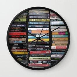 Hip-Hop Cassingles Wall Clock