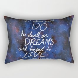 Dwell on Dreams Rectangular Pillow