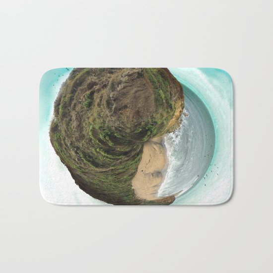 Bells Beach tiny world Bath Mat