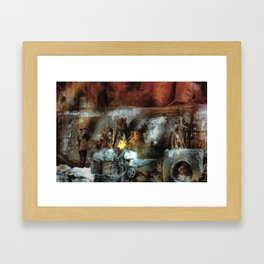 Iron Works Framed Art Print