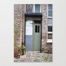 Narrow door Canvas Print
