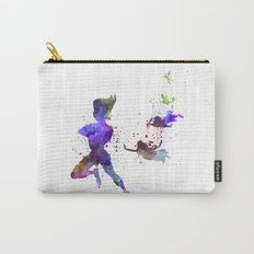 Peter Pan in watercolor Carry-All Pouch