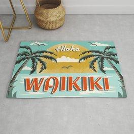 Aloha Waikiki Rug