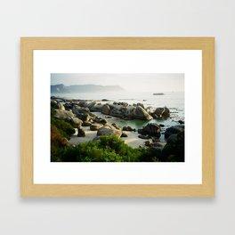 The Boulders - Simonstown, South Africa Framed Art Print