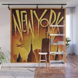 Roaring Twenties Art-Deco New York City Skyline Wall Mural