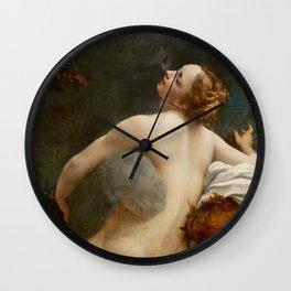 """Antonio Allegri da Correggio """"Jupiter and Io"""" Wall Clock"""