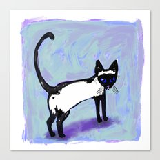 Cat Tocks Canvas Print