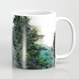 GREEN MOUNTAIN PINES LANDSCAPE Coffee Mug