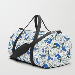 Birds in Summer Duffle Bag
