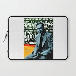 Richard Feynman Quote 1 Laptop Sleeve