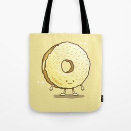 The Golden Donut Tote Bag