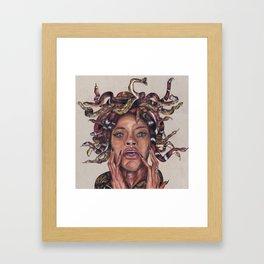 MEDUSA x RIHANNA Framed Art Print