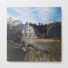 Scarborough Bluffs Metal Print