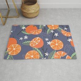 Orange pattern 01 Rug