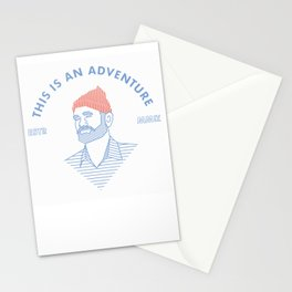 STEVE ZISSOU: THIS IS AN ADVENTURE Stationery Cards