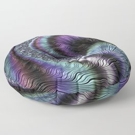 Fractal Art-Abalone Floor Pillow