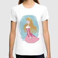 sleeping beauty T-shirts featuring Sleeping Beauty by LarissaKathryn