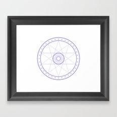 Anime Magic Circle 10 Framed Art Print