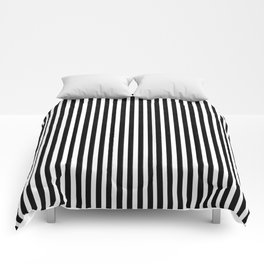 Home Decor Striped Black and White Comforters
