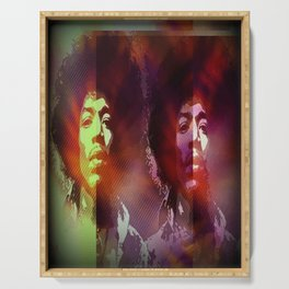 Jimi Hendrix 1 Serving Tray