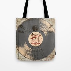 VINCI RECORD Tote Bag