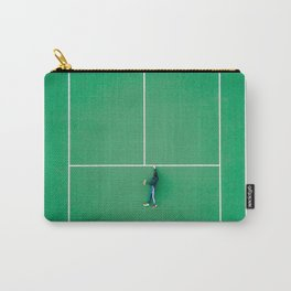 Tennis court green Carry-All Pouch