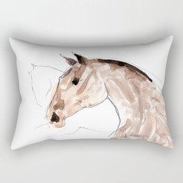 Horses (young lusitanos) Rectangular Pillow