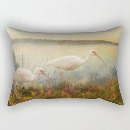 North Carolina Ibis Rectangular Pillow