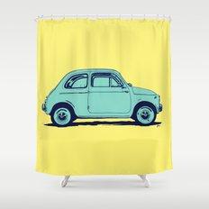 Fiat 500 Shower Curtain