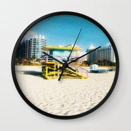 Miami Beach Wall Clock