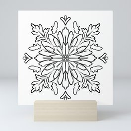 Ornamental Folk Art Pendant Mini Art Print