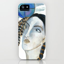 The Goddess of the Four Directions iPhone Case