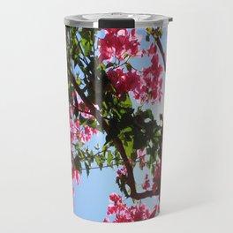 Perfect Pink Bougainvillea In Blossom Travel Mug