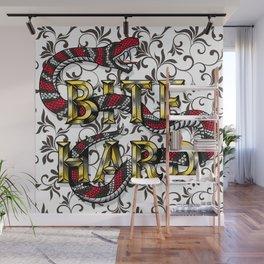 Bite Hard Wall Mural