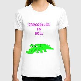 Crocodiles in Hell T-shirt