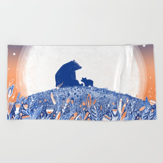 MELANCHOLIA Beach Towel
