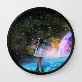 Mind Quake Wall Clock